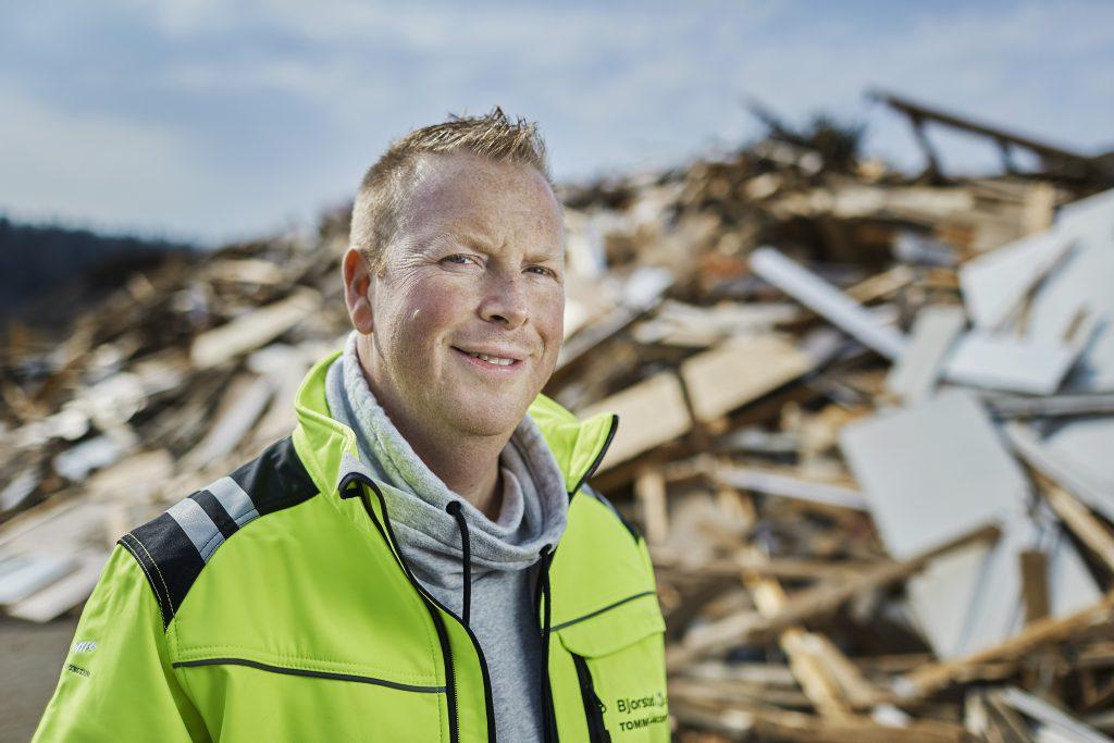 Driftsleder Tommy Jacobsen.