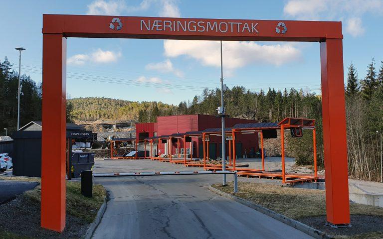Næringsmottaket i Bjorstaddalen.
